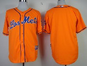 Mens mlb new york mets (blank) orange Jersey