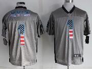 Mens Nfl Carolina Panthers #1 Cam Newton 2014 Usa Flag Fashion Gray Shadow Elite Jerseys