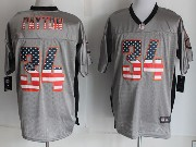 mens nfl Chicago Bears #34 Walter Payton 2014 usa flag fashion gray shadow elite jerseys
