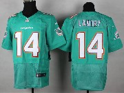 Mens Nfl Miami Dolphins #14 Landry Green (2013 New) Elite Jersey