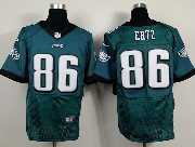 Mens Nfl Philadelphia Eagles #86 Zach Ertz Dark Green (2014 New) Elite Jersey