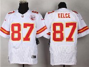 Mens Nfl Kansas City Chiefs #87 Kelce White Elite Jersey