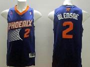 Mens Nba Phoenix Suns #2 Bledsoe Purple (2014 New Orange Number) Jersey