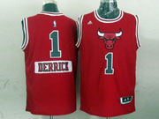 Mens Nba Chicago Bulls #1 Rose (2014 New Christmas) Red Jersey