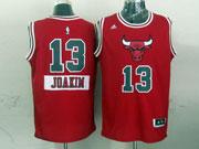Mens Nba Chicago Bulls #13 Joakim (2014 New Christmas) Red Jersey