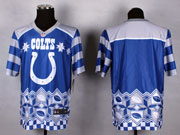 Mens Nfl Indianapolis Colts (blank) Blue 2015 Noble Fashion Elite Jersey