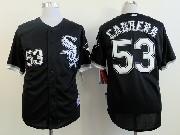 Mens Mlb Chicago White Sox #53 Cabrera Black Jersey