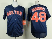 Mens mlb boston red sox #48 sandoval blue Jersey