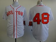 Mens mlb boston red sox #48 sandoval whtie Jersey