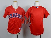 Mens mlb boston red sox(blank) red Jersey