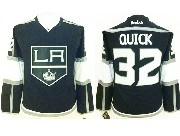 women reebok nhl los angeles kings #32 quick black Jersey