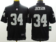 Mens Nfl Las Vegas Raiders #34 Bo Jackson Black Limited Jersey