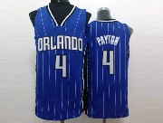 Mens Nba Orlando Magic #4 Payton Blue Stripe Jersey