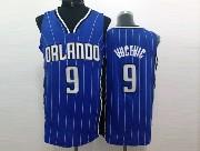 Mens Nba Orlando Magic #9 Vucevic Blue Stripe Jersey