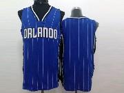 Mens Nba Orlando Magic (blank) Blue Stripe Jersey