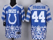 Mens Nfl Indianapolis Colts #44 Bradshaw Blue 2015 Noble Fashion Elite Jersey