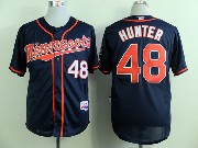 Mens Mlb Minnesota Twins #48 Hunter Dark Blue (minnesota) Jersey