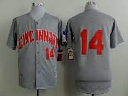 Mens Mlb Boston Red Sox #14 Rice Gray (1969 No Name) Jersey