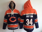 youth nfl Chicago Bears #34 Walter Payton blue (team hoodie) jersey