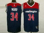 Mens Nba Washington Wizards #34 Paul Pierce Blue 2014-15 New Swingman Jersey