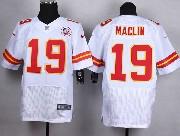 Mens Nfl Kansas City Chiefs #19 Maclin White Elite Jersey