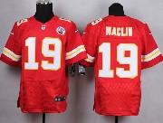 Mens Nfl Kansas City Chiefs #19 Maclin Red Elite Jersey