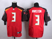mens nfl Tampa Bay Buccaneers #3 Jameis Winston (2015 new) red elite jersey