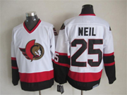 Mens nhl ottawa senators #25 neil white throwbacks Jersey