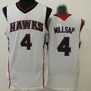 Mens Nba Atlanta Hawks #4 Millsap White Jersey