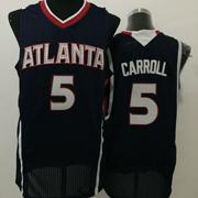 Mens Nba Atlanta Hawks #5 Carroll Black Jersey