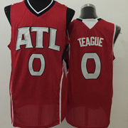 Mens Nba New Styles Atlanta Hawks #0 Teague Red Jersey