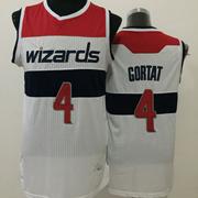 Mens Nba Washington Wizards #4 Gortat White (red Number) Jersey (m)