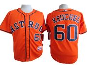 Mens Mlb Houston Astros #60 Keuchel Orange Jersey