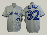 Mens Mlb Toronto Blue Jays #32 Norris White (2012) Jersey