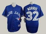 Mens Mlb Toronto Blue Jays #32 Norris Blue (2012) Jersey