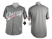Mens Mlb Chicago White Sox Blank Gray 2015 New Jersey