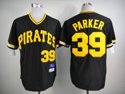 Mens Mlb Pittsburgh Pirates #39 Parker Black Pullover Jersey