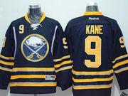 Mens Reebok Nhl Buffalo Sabres #9 Evander Kane Dark Blue Jersey