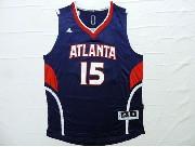 Mens Nba Atlanta Hawks #15 Horford Blue Jersey
