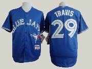 Mens Mlb Toronto Blue Jays #29 Devon Travis Blue (2012) Jersey