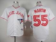 Mens Mlb Toronto Blue Jays #55 Martin White (2015 Canada Day) Jersey