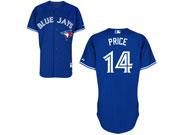 Mens mlb toronto blue jays #14 price blue Jersey