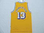 Mens Nba Los Angeles Lakers #13 Chamberlain Gold Jersey