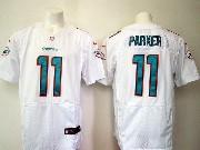 Mens Nfl Miami Dolphins #11 Parker White Elite Jersey