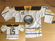 Mens Reebok Nhl Buffalo Sabres #15 Jack Eichel White Jersey