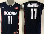 Mens Ncaa Nba Uconn Huskies #11 Boatright Dark Blue Jersey