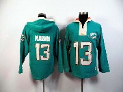 Mens Nfl Miami Dolphins #13 Marino Green (2015 Team) Hoodie Jersey