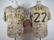 Mens Mlb Pittsburgh Pirates #27 Kang Cole Camouflage Painting Jersey