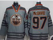 Mens Reebok Nhl Edmonton Oilers #97 Mcdavid Dark Gray Jersey