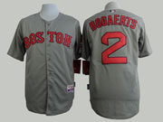 Mens Mlb Boston Red Sox #2 Bogaerts Gray Jersey